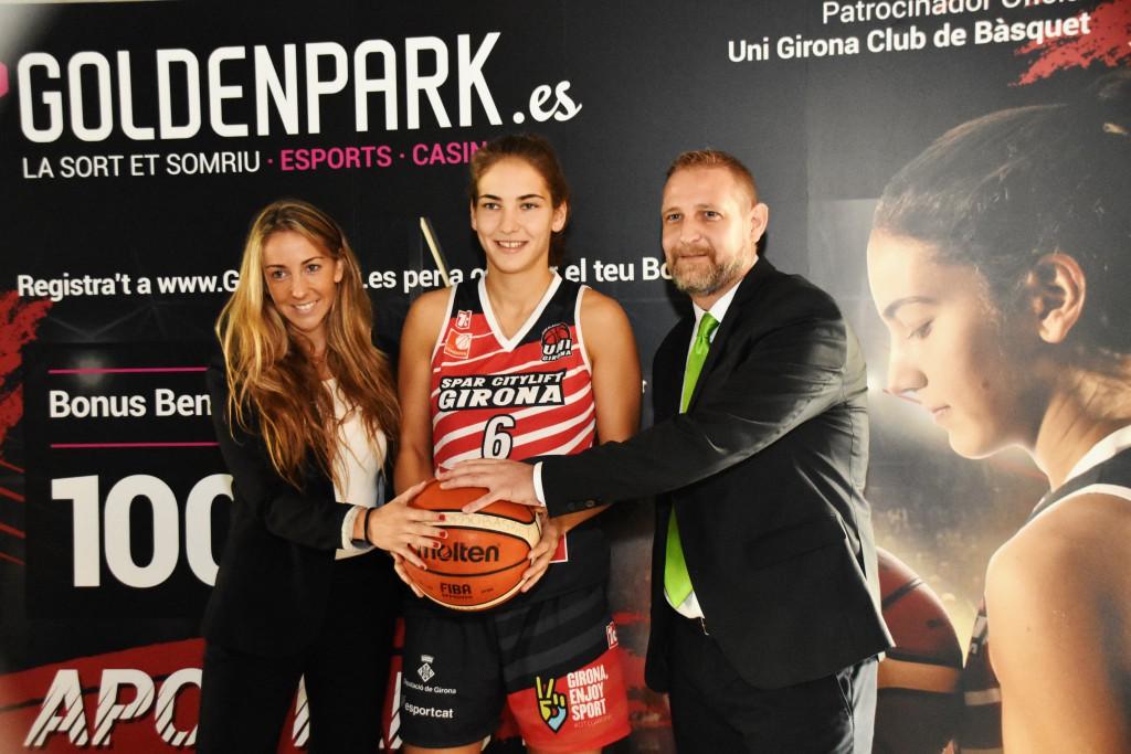 Golden Park, patrocinador de l'Uni Girona