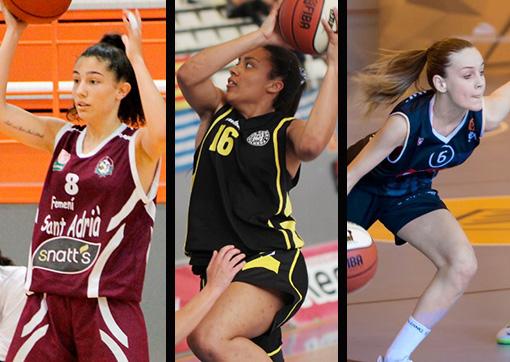 Ainhoa López, Helena Oma i Júlia Garriga - Fotos: FCBQ