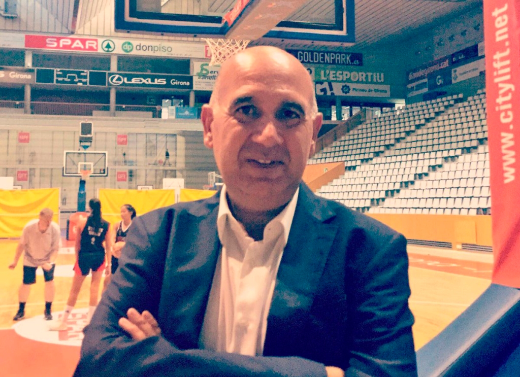 Cayetano, nou president de l'Uni Girona