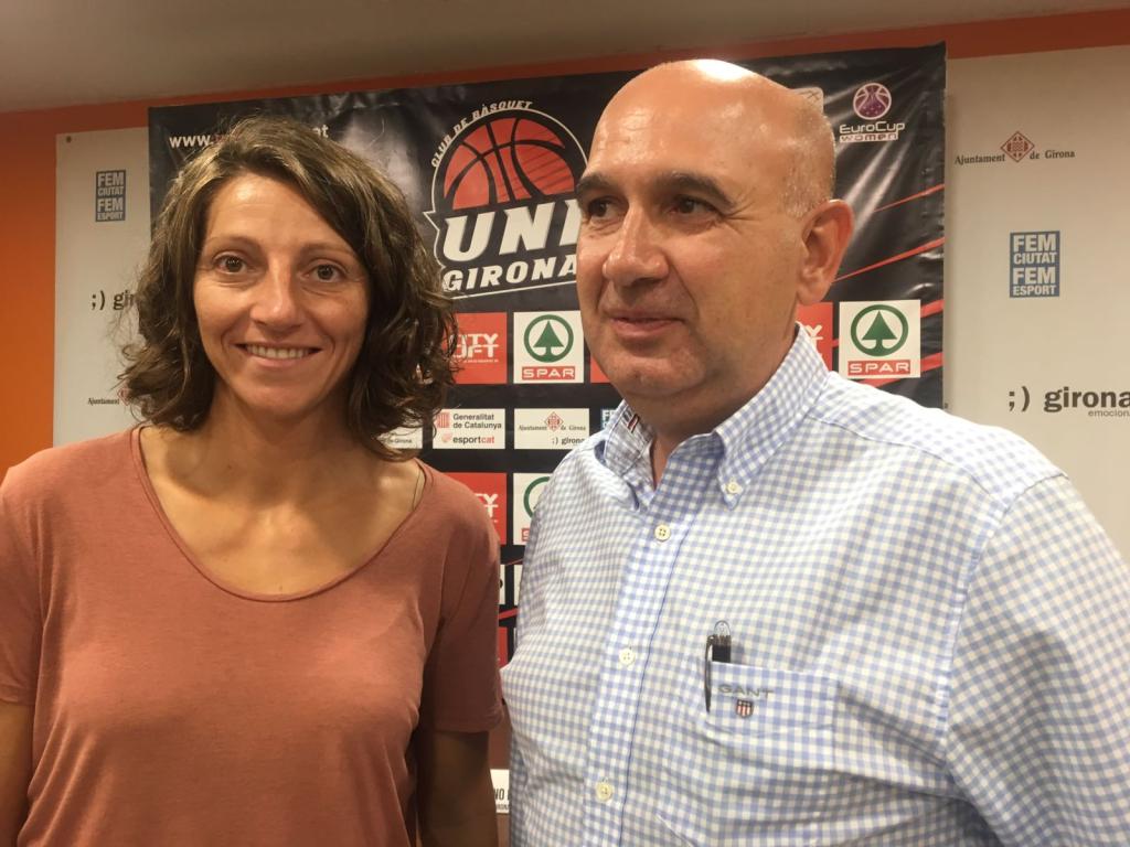 Noemí Jordana és la nova vicepresidenta de l'Spar Citylift Girona