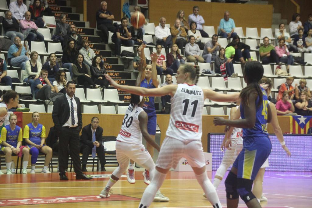 Spar Citylift Girona 86 - 55 VBW Ceglèd