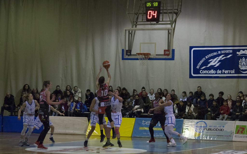 Uni Ferrol - Spar Citylift Girona