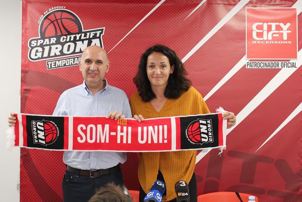 Presentació Laia Palau a l'Spar Citylift Girona