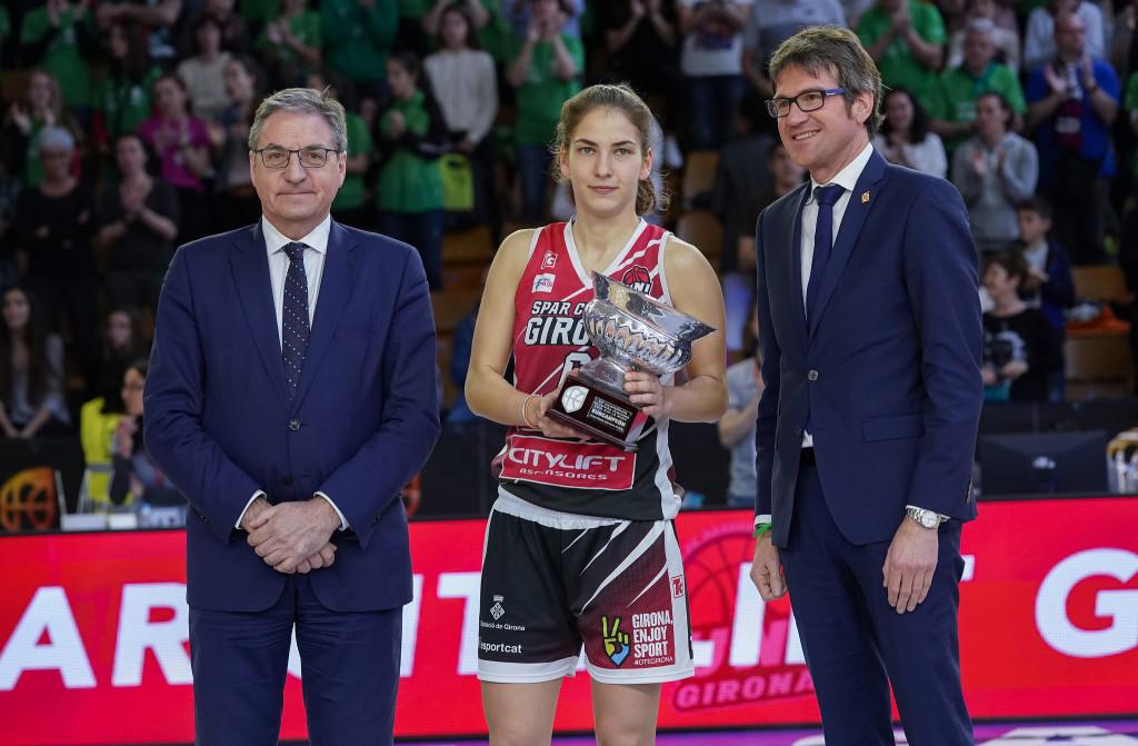 Esforç no recompensat per aconseguir el títol de Copa. (Spar Citylift Girona 71 – 79 Perfumerías Avenida)