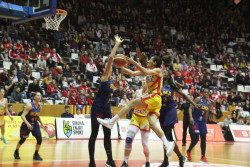 Spar Citylift Girona 66 – 69 Lyon BLMA Montpellier