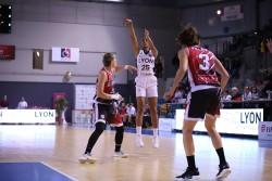Espectacle gironí a Lió; l'equip defensarà 23 punts d'avantatge a Fontajau (Lyon Asvel Féminin 57 – 80 Spar Citylift Girona)