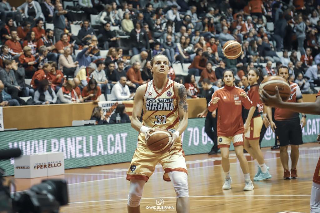 Nadia Colhado no formarà part de la plantilla de l'Spar Citylift Girona 2019-2020.
