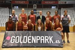 Goldenpark.es reafirma la seva aposta pel bàsquet femení amb l'Spar Citylift Girona
