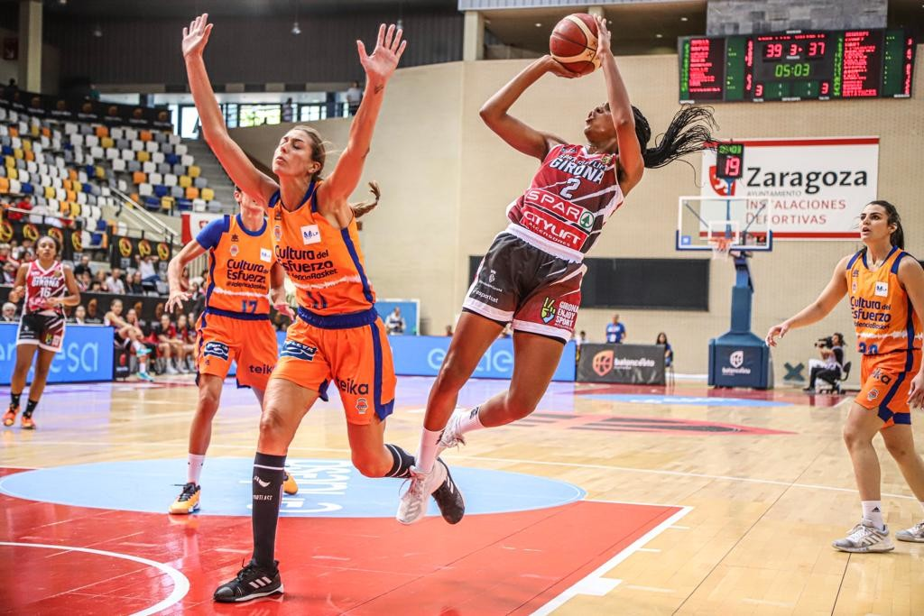 Spar Citylift Girona 67 – 52 Valencia Basket
