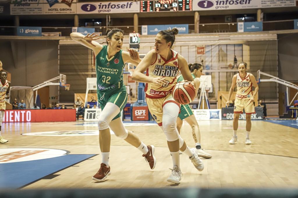 Spar Citylift Girona 64 – 58 Sopron Basket