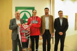 Sonja Petrovic, presentada com a jugadora de l'Spar Citylift Girona a la Fundació Valvi
