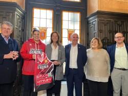 Marta Xargay, presentada a l'Ajuntament de Girona