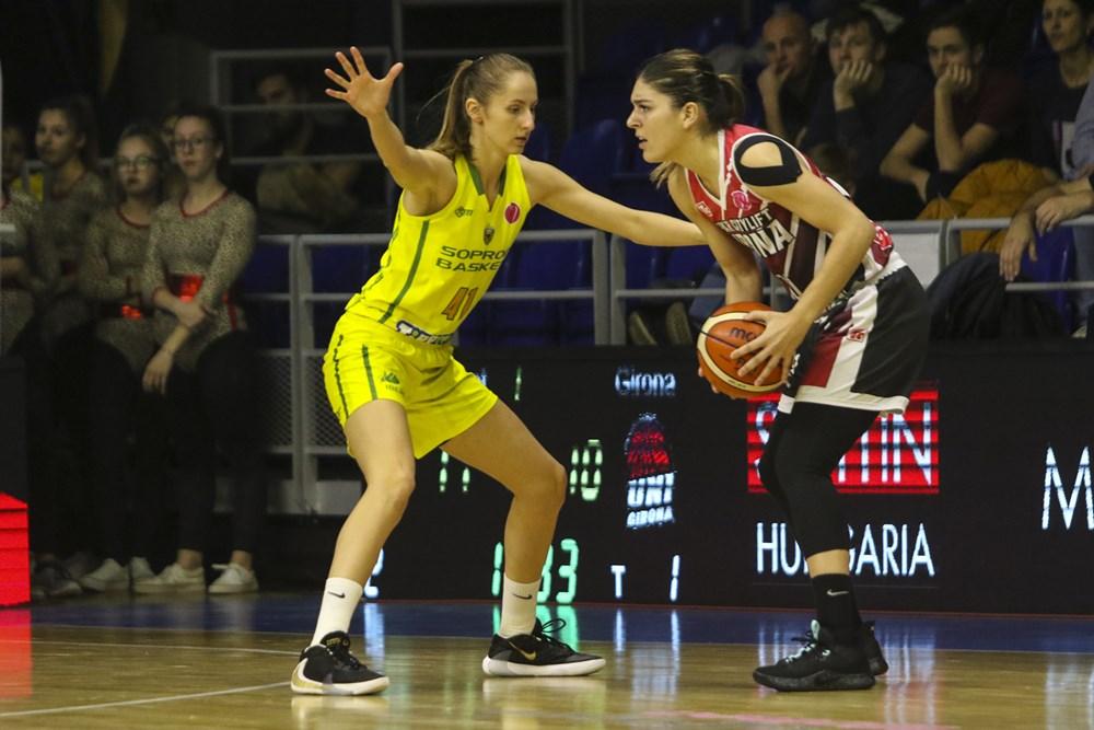 Sopron Basket 66 – 56 Spar Citylift Girona